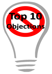 Solutionman's Top 10 Objections to Creative Ideas